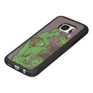 Hulk Retro Jump Wood Samsung Galaxy S7 Case