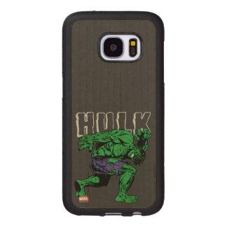Hulk Retro Lift Wood Samsung Galaxy S7 Case
