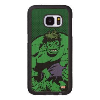 Hulk Retro Stomp Wood Samsung Galaxy S7 Case