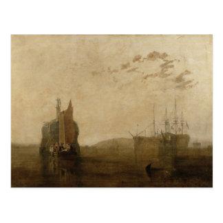 Hulks on the Tamar, c.1812 Postcard