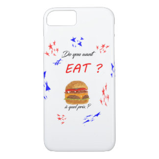 "Hull ""C you want EAT? "" iPhone 8/7 Case"