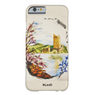 hull Château watercolour ruins Ireland spring Barely There iPhone 6 Case