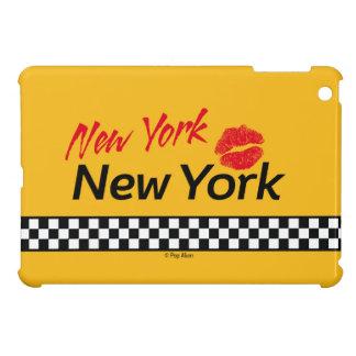 Hull for iPad Mini Taxi NY & Red KIS Case For The iPad Mini