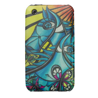 Hull iPhone 3G/3GS Barely There Puts guiñés.d iPhone 3 Case