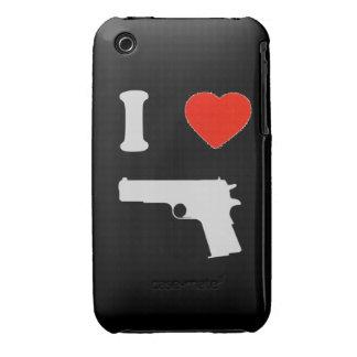"Hull iPhone 3G/3GS ""I coils gun"" (black) iPhone 3 Cover"