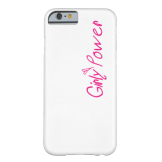 Hull iPhone 6/6s, Girl Power Barely There iPhone 6 Case