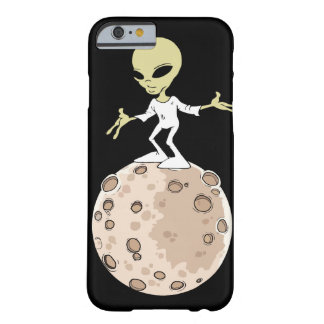 """Hull Iphone 6 and 6S """"Alien on planet """" Barely There iPhone 6 Case"""