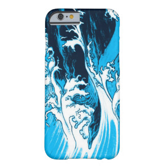 Hull iPhone 6, blue drawing vaguenesses and scum Barely There iPhone 6 Case