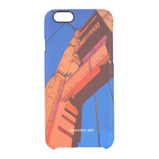HULL IPHONE GOLDEN GATE CLEAR iPhone 6/6S CASE