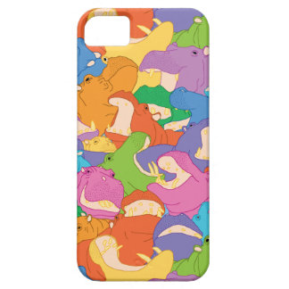 Hull iPhone Hippopotamuses iPhone 5 Case
