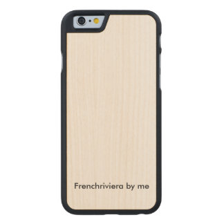 Hull iPhone natural wood Carved Maple iPhone 6 Case