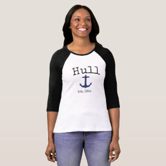 Hull Massachusetts 3/4 Raglan shirt for women