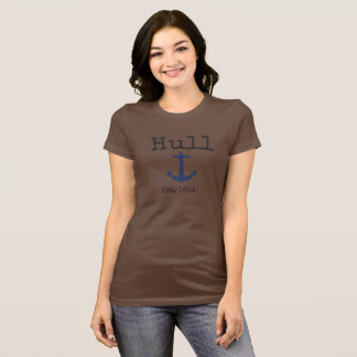 Hull Massachusetts brown shirt for women