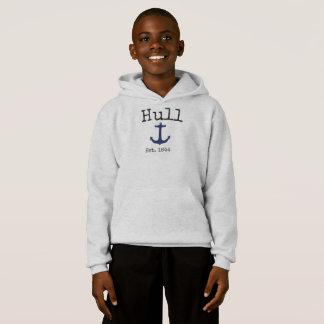 Hull Massachusetts grey sweatshirt for boys