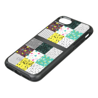 Hull patchwork teenager girl OtterBox symmetry iPhone 8/7 case
