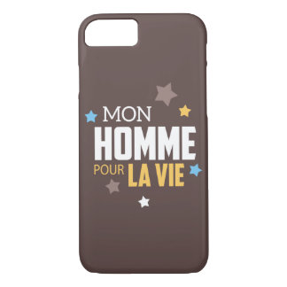Hull Smartphone Gift My Man for the life! iPhone 8/7 Case