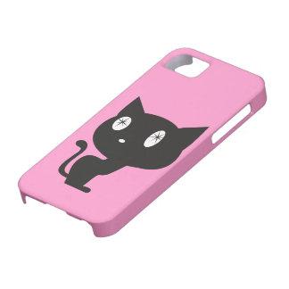 "hull telephones ""Black Cat "" iPhone 5 Covers"