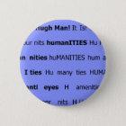 huma nits 6 cm round badge