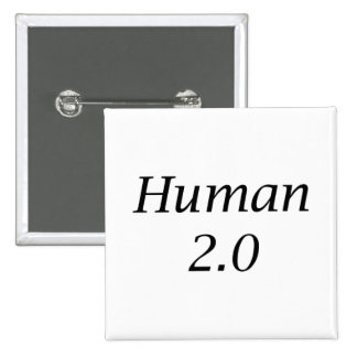 Human2.0 15 Cm Square Badge
