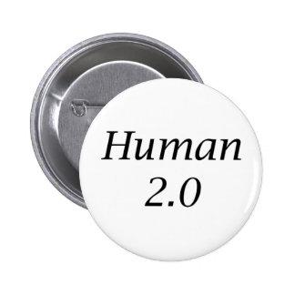 Human2.0 6 Cm Round Badge