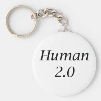 Human2.0 Basic Round Button Key Ring