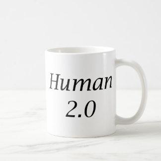 Human2.0 Classic White Coffee Mug