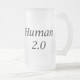 Human2.0 Frosted Glass Mug