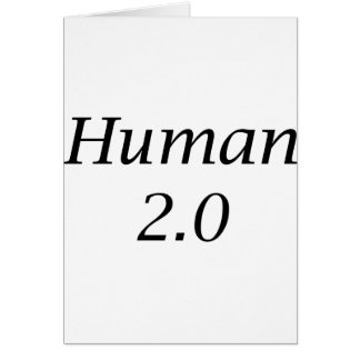 Human2.0 Greeting Card