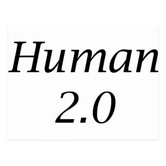 Human2.0 Postcard