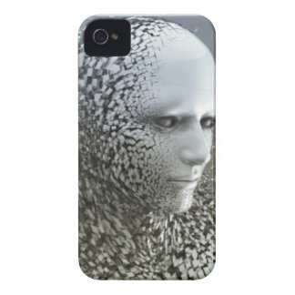 Human Abstract Art Case-Mate iPhone 4 Case