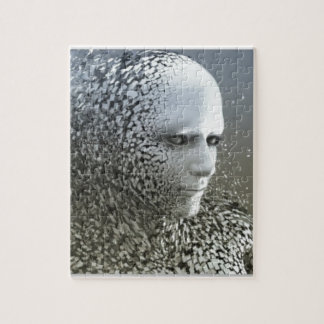 Human Abstract Art Jigsaw Puzzle