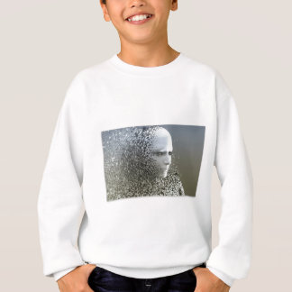 Human Abstract Art Sweatshirt