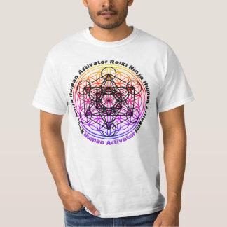 Human Activator Reiki Ninja 2 shirt