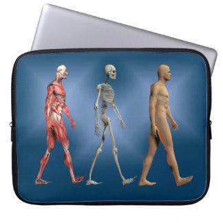 Human Anatomy Laptop Sleeve