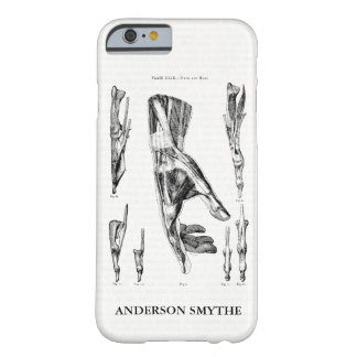 Human Anatomy Muscles of the Hand and Wrist Barely There iPhone 6 Case