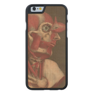 Human Anatomy Vintage Eye Head and Neck Carved® Maple iPhone 6 Case