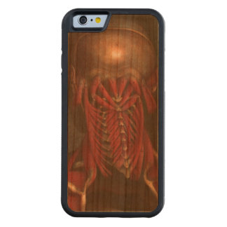 Human Anatomy vintage  Neck and Shoulders Cherry iPhone 6 Bumper