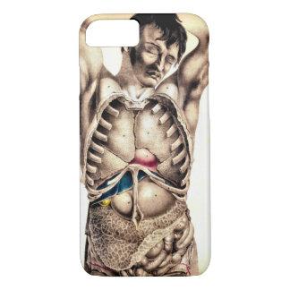 Human Autopsy Pencil Art iPhone 7 Case