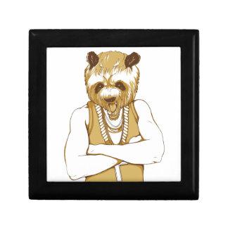 human bear with tongue gift box
