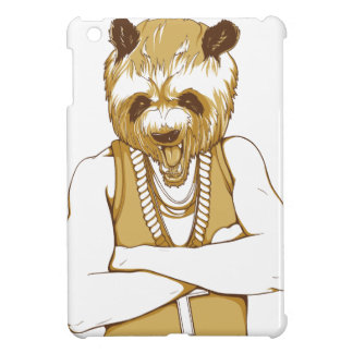 human bear with tongue iPad mini cover