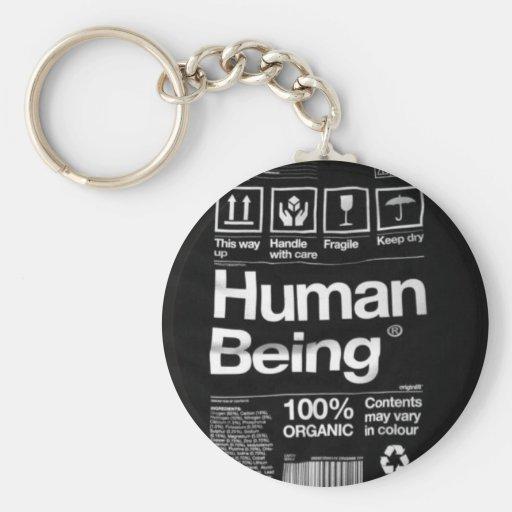 human being keychains
