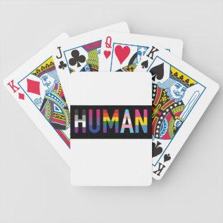 Human Bicycle Playing Cards