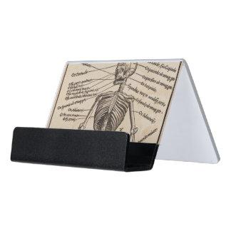 Human Bones Desk Business Card Holder