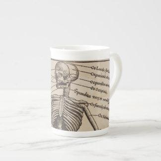 Human Bones Tea Cup