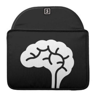 Human Brain Pictogram MacBook Pro Sleeve