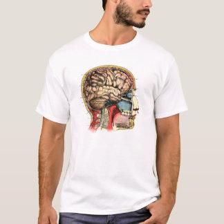 Human Brain Skull Cervical Spine T-Shirt