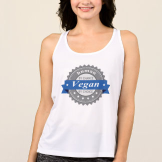 Human By Chance - Vegan By Choice Singlet