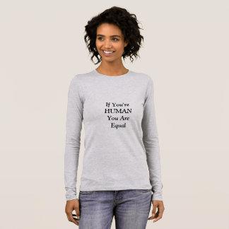 Human Equality Long Sleeve T-Shirt
