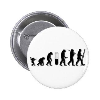 Human Evolution Buttons