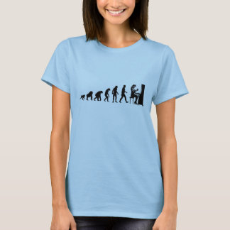 Human Evolution: Pianist T-Shirt